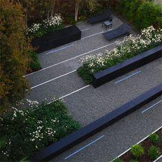 I love the terracing - so modern!