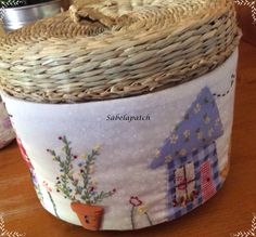 Sabelapatch Hamper, Pin Cushions, Needlework, Ikea, Projects To Try, Patches, Quilting, Country, Sewing