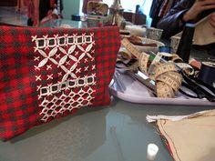 Ramon Santos elaboracion textil: Costura Práctica xa se ven os avances