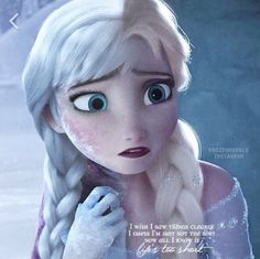 Elsa and Anna, same look