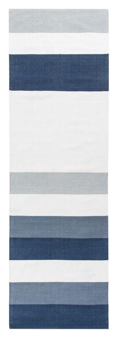 <p>Portsa-matto on kuvioinniltaan leveäraitainen puuvillamatto, jota on saatavilla rauhallisten beigen ja sinisen sävyissä. Riina Kuikka on suunnitellut maton, joka on kodikas, kaunis ja kestävä. Portsa-matto soveltuu rauhallisen