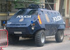 Policia Nacional. Spain.