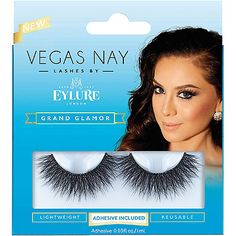 a111a32571f Eylure Vegas Nay Grand Glamour Lashes NO inner corners too long Vegas Nay  Lashes, False