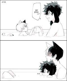 Tododeku - bunny Izuku and wolf Todoroki [2]