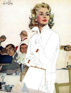 """Coby Whitmore This painting was with a story titled """"Too Young For Trouble"""" in the Saturday Evening Post.