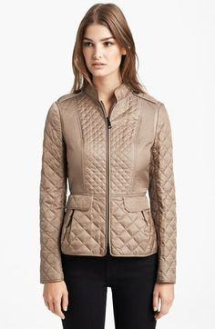 Burberry Quilted Jacket on shopstyle.com