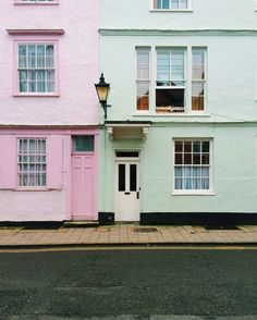 Pastel colored houses. | wanderflow | VSCO Grid
