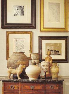 Interior Design, Interiors Design Tips, Decor Ideas, Braithewait Vignettes, French Interiors, Arrangements Vignettes, Nancy Braithewait, Partridge Houses, ...
