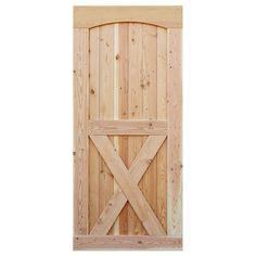 Barn door cross