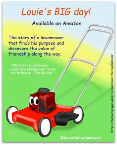 """Grab a copy of """"Louie's BIG day!"""" and watch for Louie's new adventure - coming soon!"""