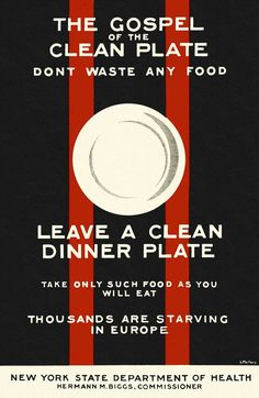 """""""The Gospel of the Clean Plate"""""""