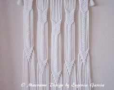 Macrame Wall Hanging - Arrows - Handmade Macrame Home Decor/ Macrame Wall Art/Rope Weaving/Rope Braiding/Rope Art by Evgenia Garcia