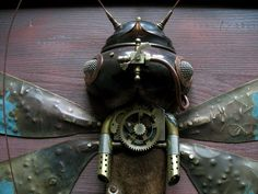 Lithuanian Artist Creates Steampunk Assemblages From Various Metal Parts | Bored Panda