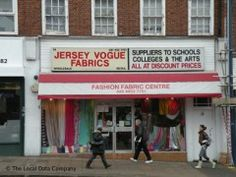 A brilliant and cheap fabric store in London    Jersey Vogue Fabrics, 14 Station Road, Edgware - Fabric Shops near Edgware Tube Station