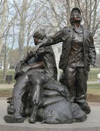 Ladies Vietnam War Memorial DC - sculpted by Glenna Goodacre