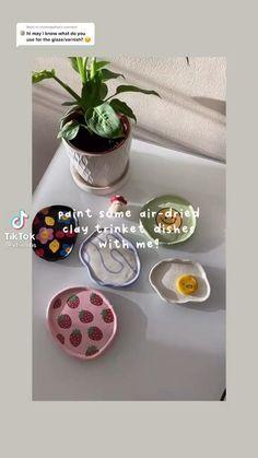 Ceramic Clay, Ceramic Pottery, Pottery Art, Polymer Clay Crafts, Diy Clay, Fun Diy Crafts, Arts And Crafts, Keramik Design, Clay Art Projects