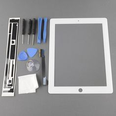 For #Ipad3 #TouchScreen #Digitizer ●  Compatible Model: For Ipad 4 LCD Digitizer                                        ●  Item Code: HR00IP4DIG ●  Color: Black/White  ●  Quality: 100%