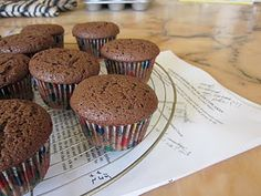 Alice's chocolate cupcakes...made them and they are YUM!