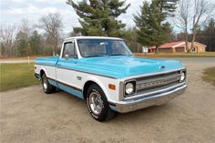 1969 CHEVROLET C-10 FLEETSIDE PICKUP