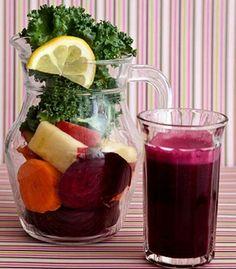 Juice to lower blood pressure