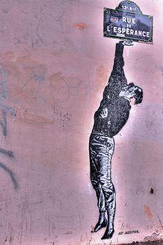 Paris street art, Rue de l'Espérance, Paris XIII