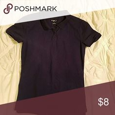 Mossimo navy Polo Worn once Mossimo Supply Co Tops Tees - Short Sleeve