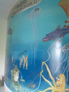 Mural for kids by Donzine! Murals For Kids, Kids Rooms, Indoor, Interior, Kidsroom, Kid Rooms, Nurseries, Nursery, Baby Rooms