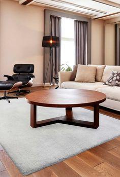 Moderne Teppiche Für Wohnzimmer   Moderner Teppich   Kurzflor Shaggy Soft  Touch Latifa Grau