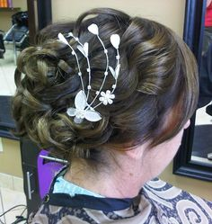 Wedding Updo Hair Studio, Wedding Updo, Updos, Earrings, Fashion, Up Dos, Ear Rings, Moda, Stud Earrings