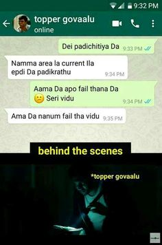 Thats tamil chat