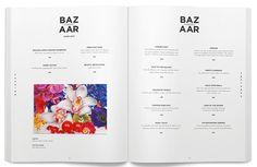Harper's Bazaar Redesign on Editorial Design Served