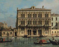 Canaletto. Palazzo Vendramin Calergi sul Canal Grande