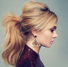 ふわっとしたゆるふわローポニーテールがかわいいヘアスタイル♡早速マネしたいカット・髪型・アレンジ♬