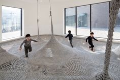 Indoor plyaground in Seoul by SHIN Architects