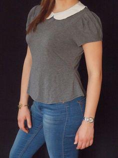 Freestyle Sisters - selbstgenähtes Bubikragen Shirt