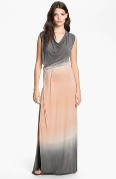 Young, Fabulous & Broke 'Yoka' Tie Dye Maxi Dress available at #Nordstrom