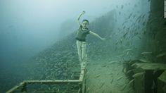 Cultura Inquieta - Galería de arte submarina situada a 27 metros de profundidad en un barco hundido