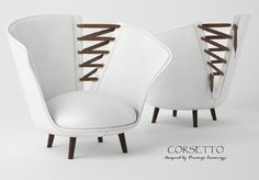 Corsetto is an armchair with a captivating DNA trying to get noticed for its structure and also for its finishes,… more