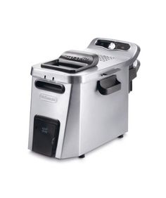 Delonghi F34532CZ 5-Liter Deep Fryer, 220-Volt, Silver -- More info could be found at the image url. #DeepFryers