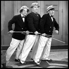 """From the short, """"Gents Without Cents"""". The Three Stooges, The Stooges, Great Comedies, Classic Comedies, Tv Icon, Abbott And Costello, The Monkees, Columbia Pictures, Funny People"""