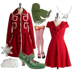 Christmas Date, created by spiffyriki on Polyvore