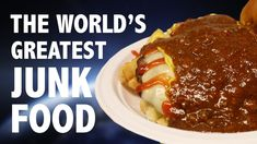 THE WORLD'S GREATEST GARBAGE PLATE 🥘 - YouTube Garbage Plate, Junk Food, Plates, World, Youtube, Channel, The World, Plate, Griddles