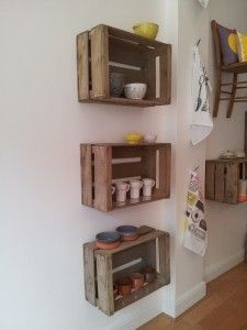 wood crate wall shelves zainskiinfo wooden crates shelves wooden crate shelves i. - wood crate wall shelves zainskiinfo wooden crates shelves wooden crate shelves ideas You are in the - Wood Crate Shelves, Crate Bookshelf, Wood Crates, Small Wooden Crates, Diy Wooden Crate, How To Hang Wooden Crates, Vintage Wooden Crates, Wooden Boxes, Wooden Crate Furniture