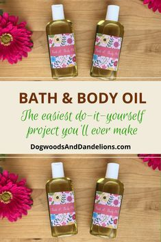 Spending lots of time outdoors is one of the best parts of summer. But thick, heavy lotions are too much with the heat and humidity. Read on to find out how to make this DIY bath & body oil. It is surprisingly light and non-greasy and perfect to moisturize your skin for the summer.