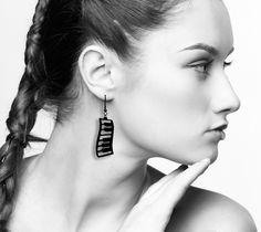 Dancing Piano Earrings - Piano Jewelry