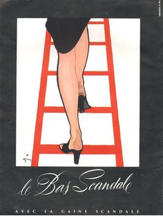 ▬► Publicite Advertising AD LE BAS Scandale René Gruau | eBay