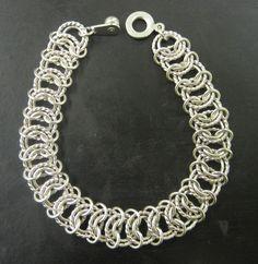 Chevron chain maille