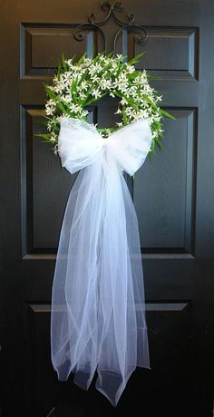 spring wedding wreaths for front door wreaths wedding bridal shower decorations barn outdoor wreath wedding wreaths decor spring wreaths – Spring Wreath İdeas. Wedding Door Decorations, Wedding Wreaths, Bridal Shower Decorations, Wedding Flowers, Decor Wedding, Wedding Ideas, Communion Decorations, Wedding Reception, Wedding Dresses