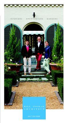 Bill Ingram Architect January Garden & Gun ad. www.billingramarchitect.com