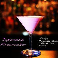 Japanese Firecracker Martini